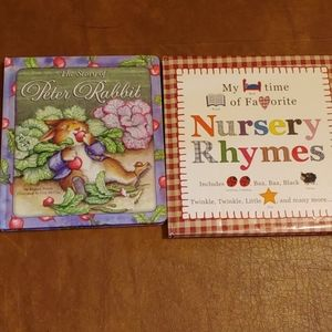2 hard cover books for early readers.